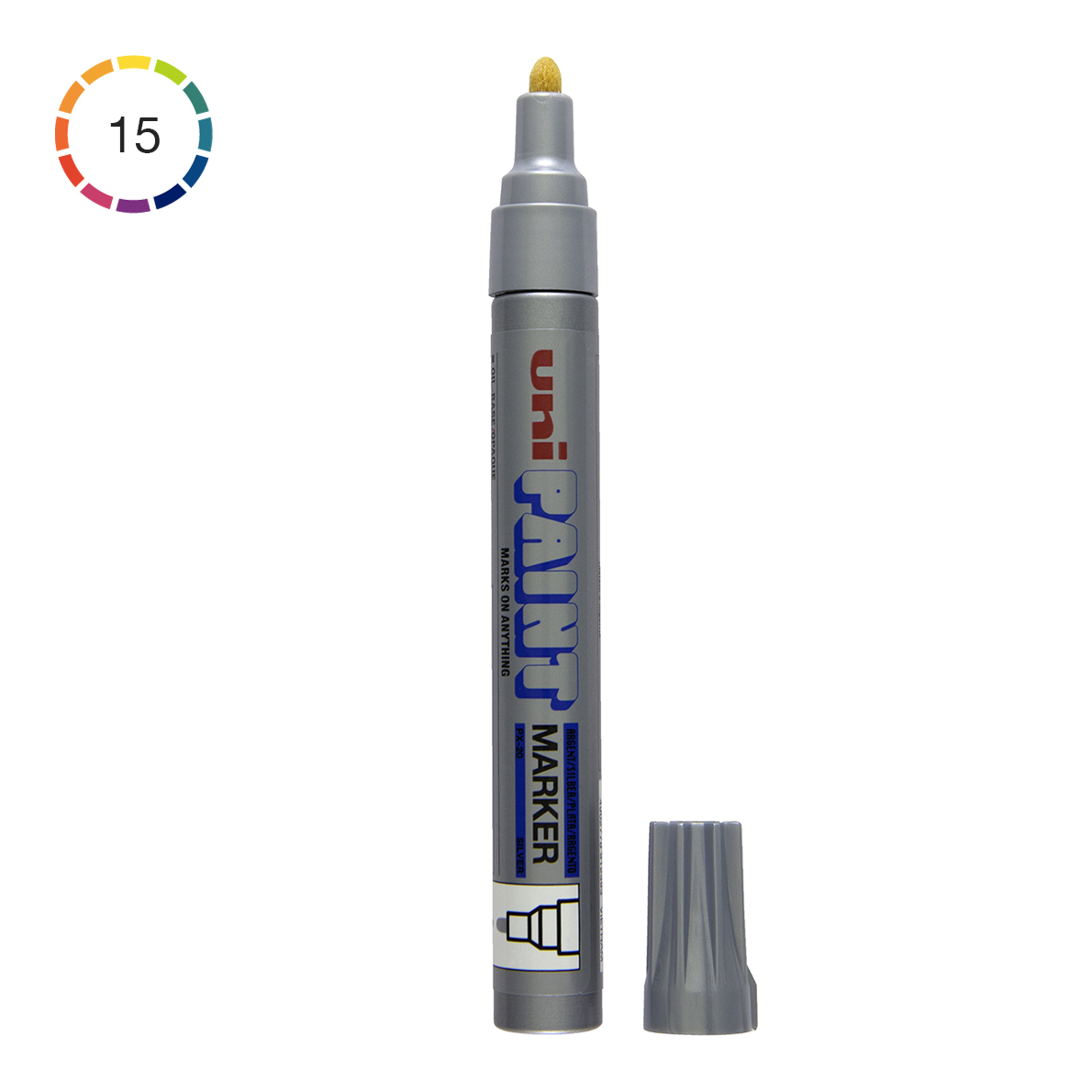 Uni paint marker px 20 medium 2 5 mm for Uni paint marker