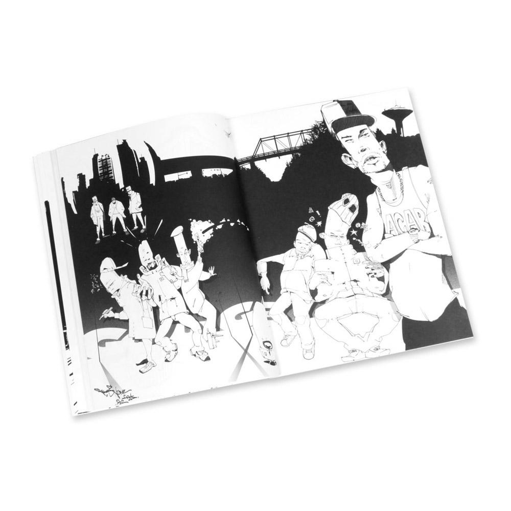 Graffiti Coloring Book #2, Characters – Markersnpens.com