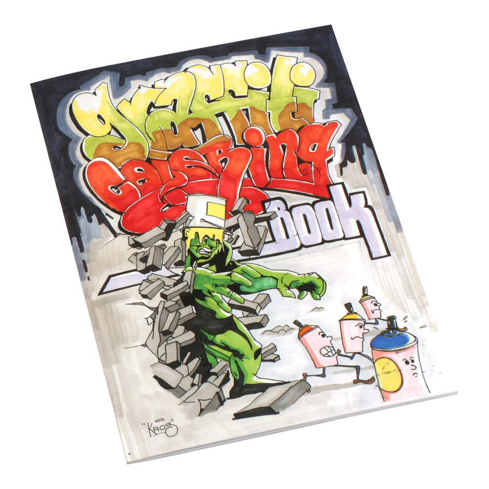 Graffiti Coloring Book Markersnpens Com