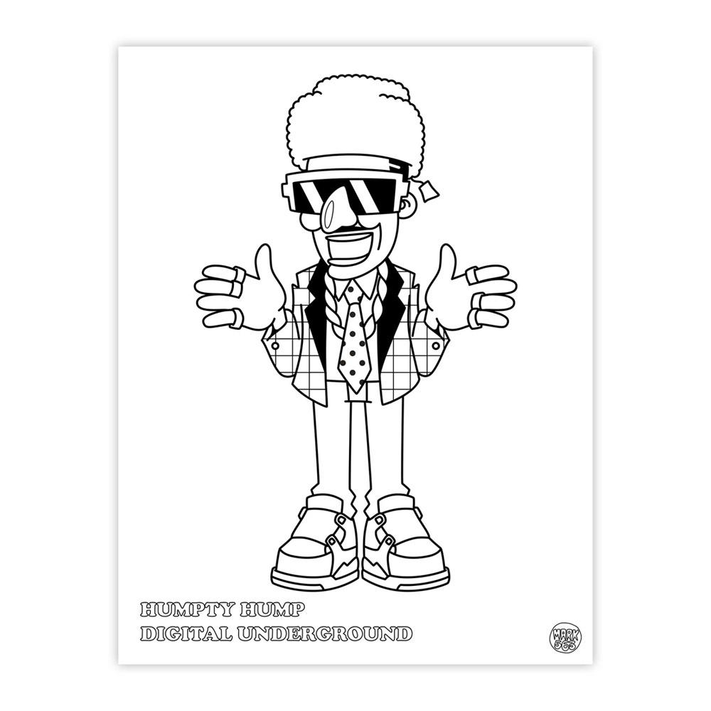 HipHop Coloring book – Markersnpens.com