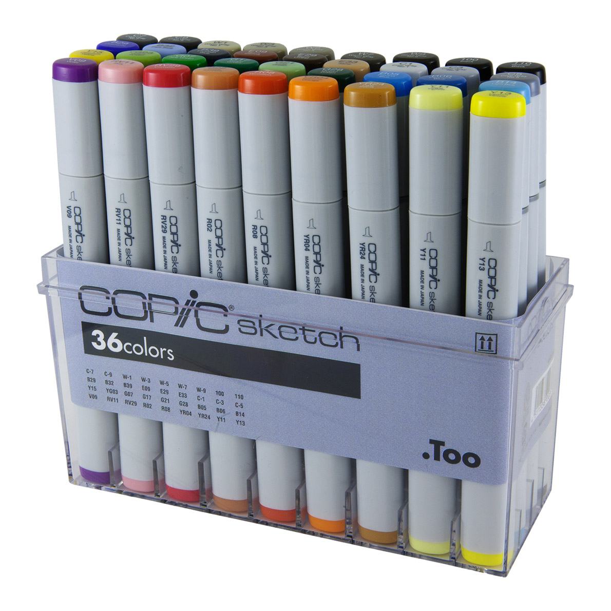 36 Pens Copic Sketch Marker Set