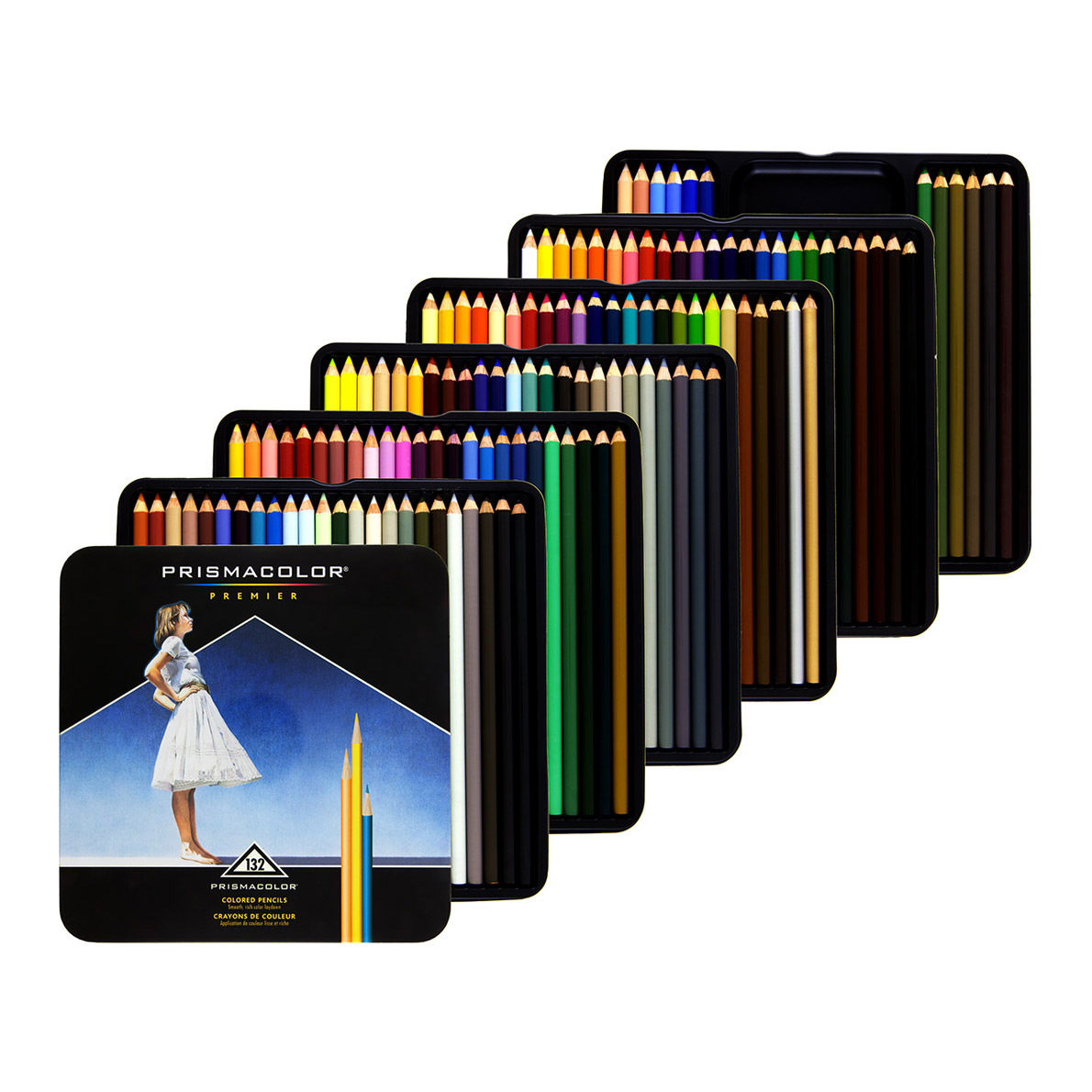 prismacolor premier colored pencils 132 set soft core