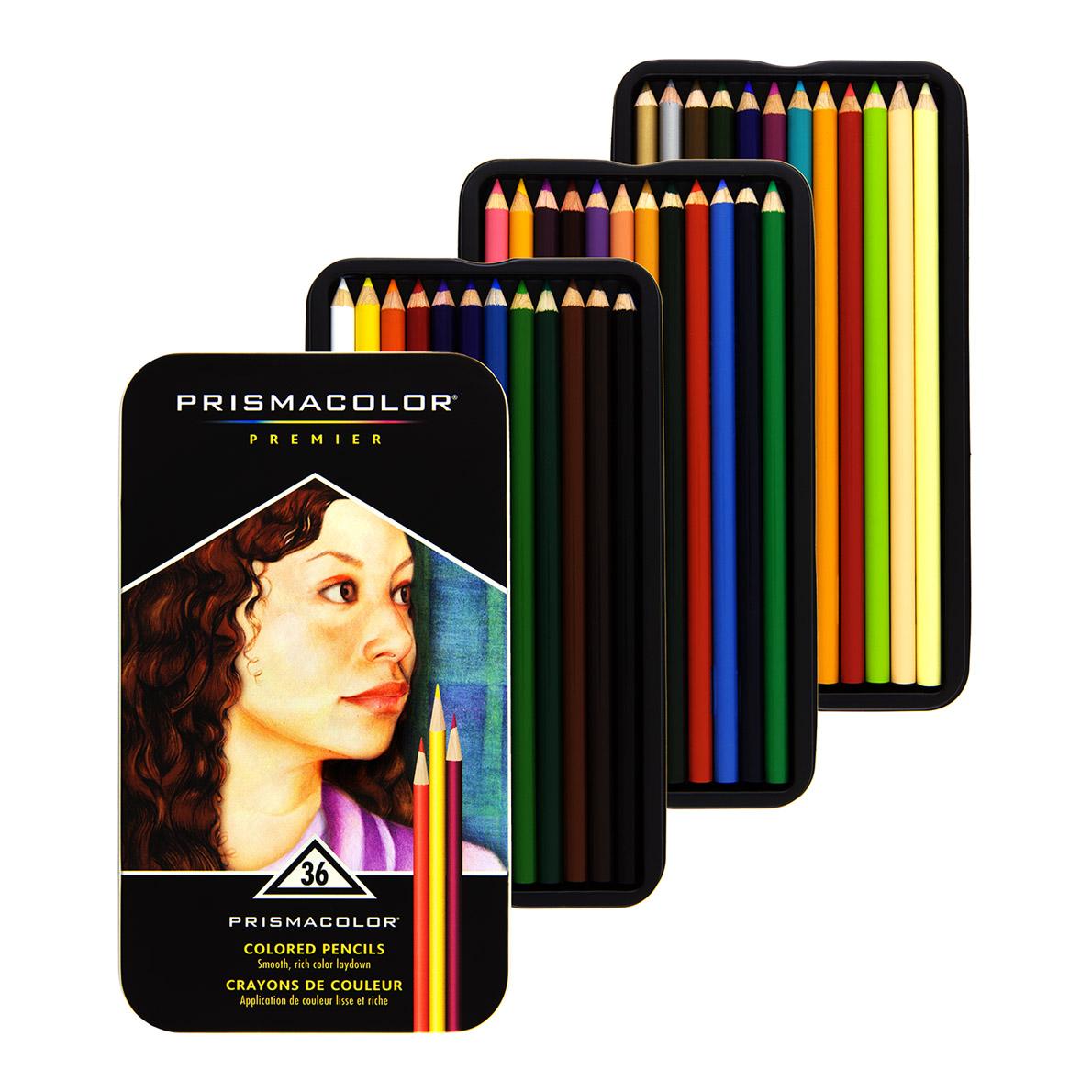 prismacolor premier colored pencils 36 set soft core markersnpens com