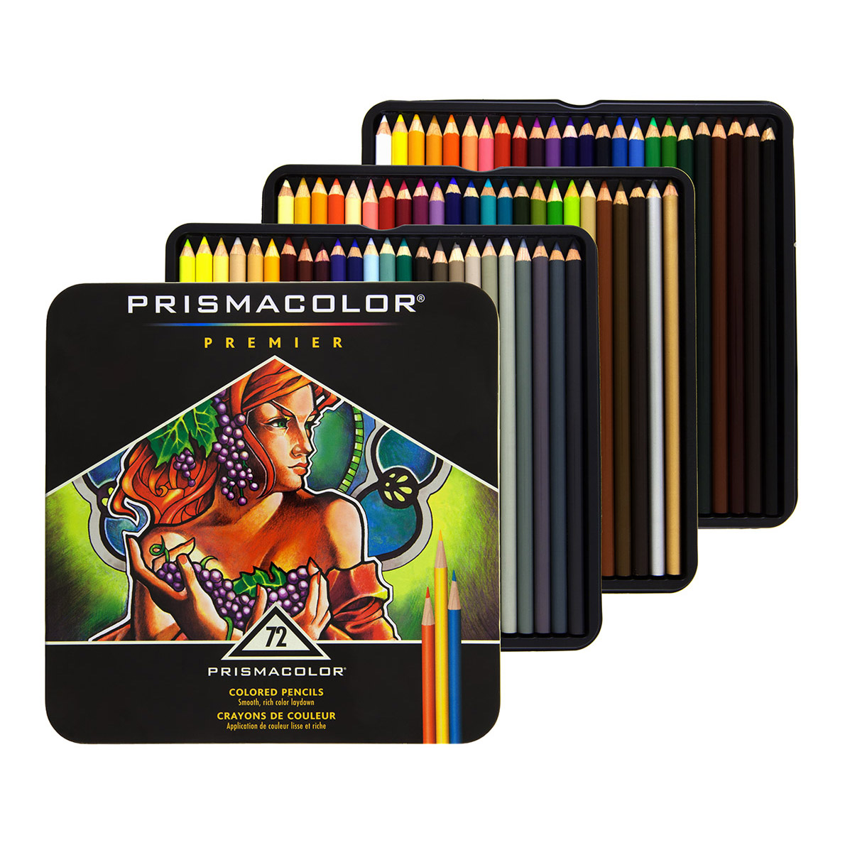 Prismacolor Premier Colored Pencils 72 Set Soft Core