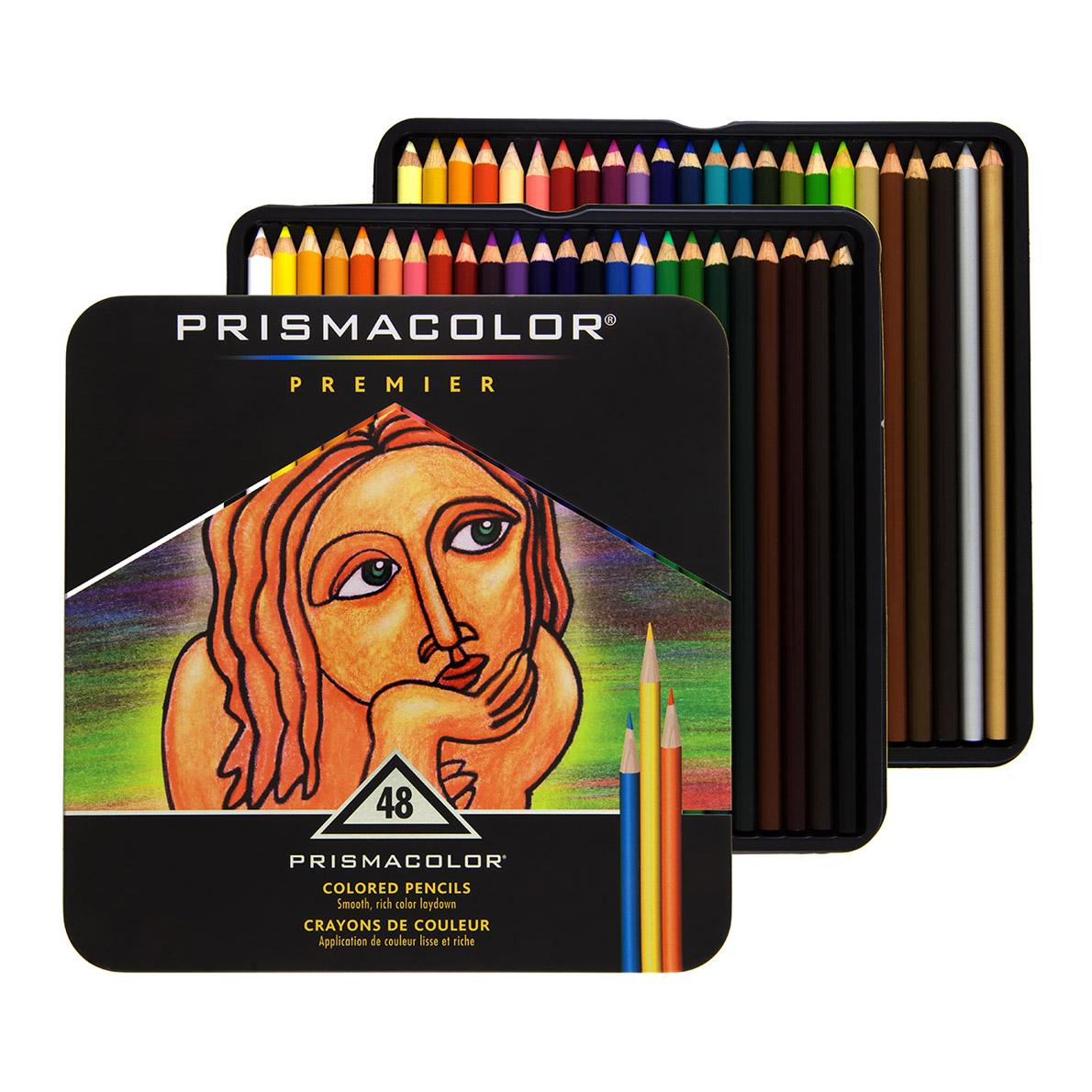 Prismacolor Premier Colored Pencils 48 Set 070735035981 02
