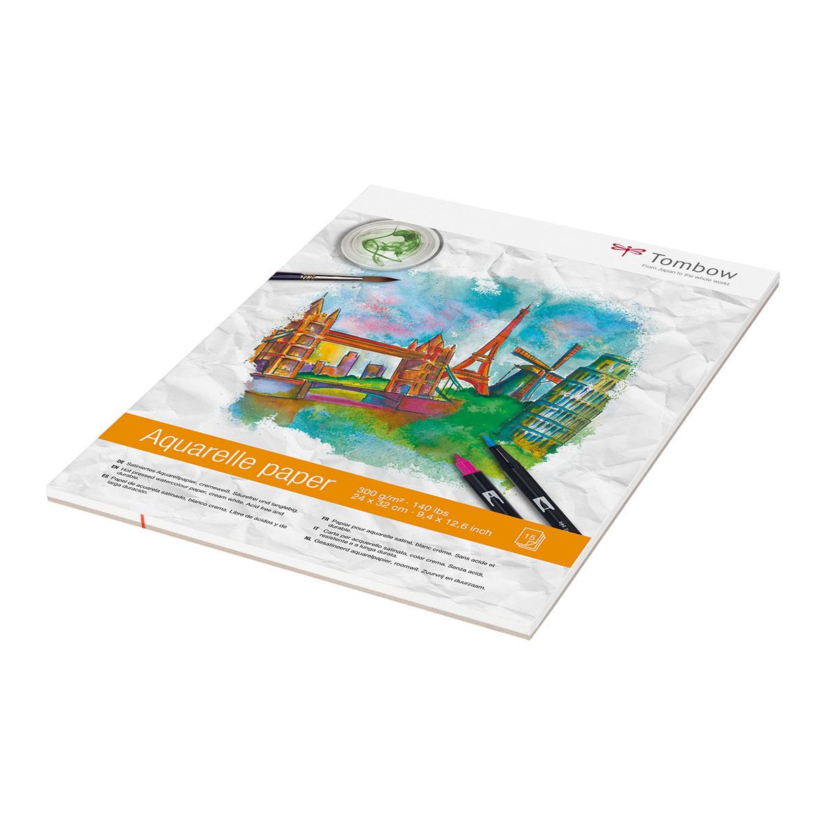 Tombow Aquarelle Paper 2432 Cm 300g